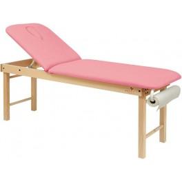 Table de massage fixe bois 2 plans C3122